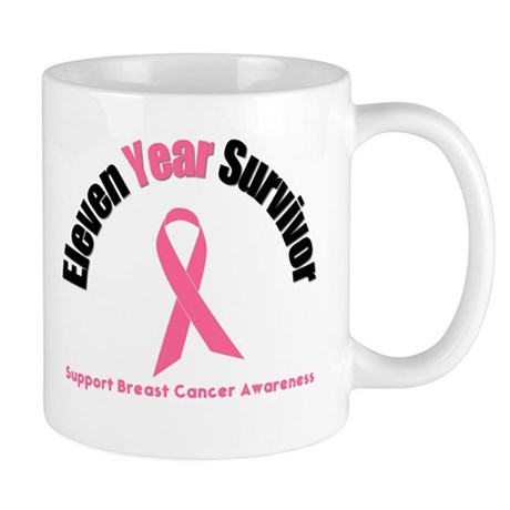 11 Year Breast Cancer Survivor Mug