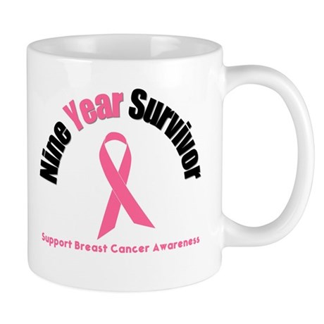 9 Year Breast Cancer Survivor Mug