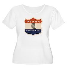 Obama / Biden JFK '60 Shield T-Shirt