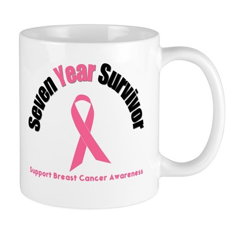 7 Year Breast Cancer Survivor Mug