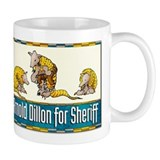 """Arnold Dillon for Sheriff"" Small Mug"