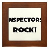 Inspectors ROCK Framed Tile