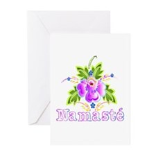 Namaste Bouquet Greeting Cards (Pk of 10)