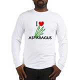 I Love Asparagus Long Sleeve T-Shirt