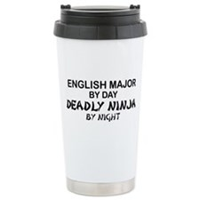 English Major Deadly Ninja by Night Ceramic Travel