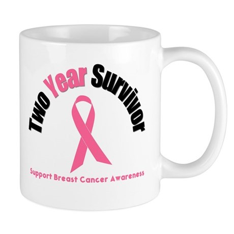 2 Year Breast Cancer Survivor Mug