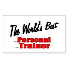 """""""The World's Best Personal Trainer"""" Decal"""