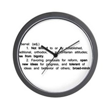The Definition of a Liberal Wall Clock