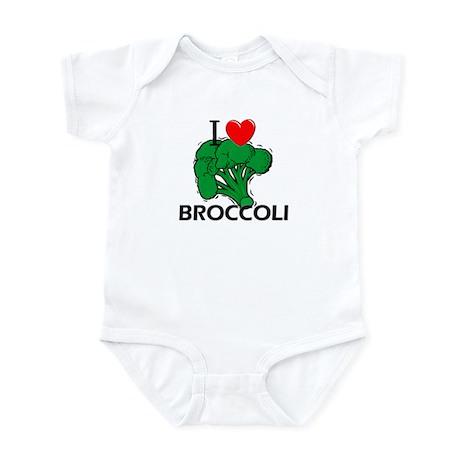 I Love Broccoli Infant Bodysuit