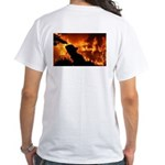 FireFighter White T-Shirt