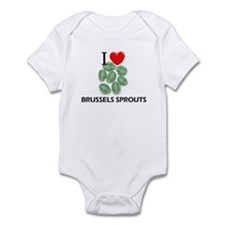 I Love Brussels Sprouts Infant Bodysuit