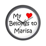 Marisa Wall Clock