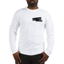 """Editor-in-Chief"" Long Sleeve T-Shirt"