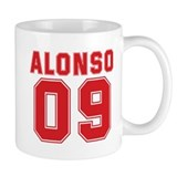 ALONSO 09 Small Mug
