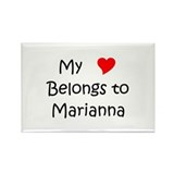 Marianna Rectangle Magnet (100 pack)