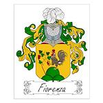 Fiorenza Family Crest Small Poster