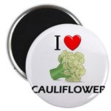 I Love Cauliflower Magnet