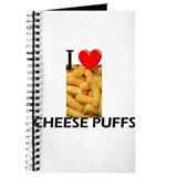 I Love Cheese Puffs Journal