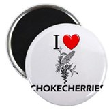 I Love Chokecherries Magnet