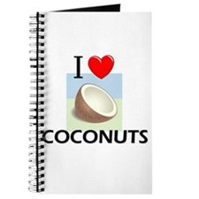 I Love Coconuts Journal