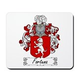 Fortuna Family Crest Mousepad