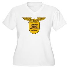Genealogy Bikers Women's Plus Size V-Neck T-Shirt