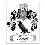 Franchi Family Crest Small Poster