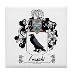 Franchi Family Crest Tile Coaster