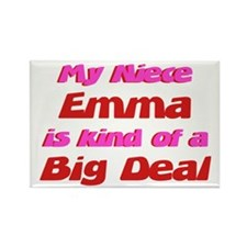 Niece Emma - Big Deal Rectangle Magnet