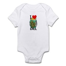I Love Dill Infant Bodysuit