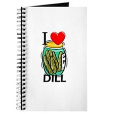I Love Dill Journal