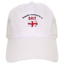 Happily Married Brit Baseball Cap