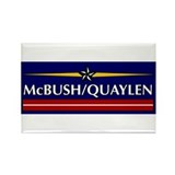 McBush/Quaylen Rectangle Magnet (10 pack)