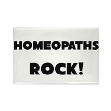 Homeopaths ROCK Rectangle Magnet