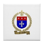 GENDREAU Family Crest Tile Coaster