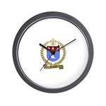 GELINAS Family Crest Wall Clock