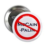 Slash Through McCain-Palin political button