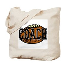 Football Coach Tote Bag