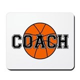 Basketball Coach Mousepad