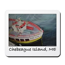 Chebeague Island Ferry Mousepad