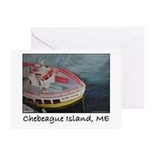 Chebeague Island Ferry Greeting Card