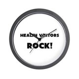 Health Visitors ROCK Wall Clock