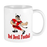 Red Devil Football Mug