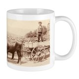 Milking Devon Oxen mug
