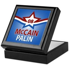 McCain Palin Star Keepsake Box