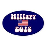 Politics Again Oval Decal