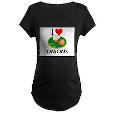 I Love Onions T-Shirt
