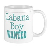 cabana boy wanted Coffee Mug