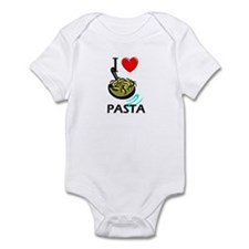 I Love Pasta Infant Bodysuit
