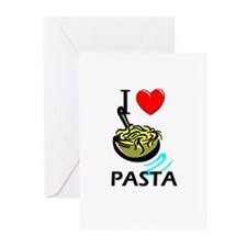 I Love Pasta Greeting Cards (Pk of 10)